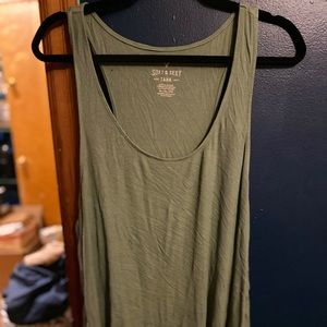 Olive American Eagle Soft & Sexy Tank